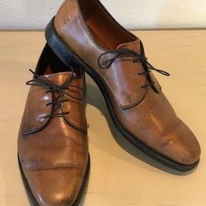 Allen Edmonds~Mens~Leather Shoes~9.5~Light Brown